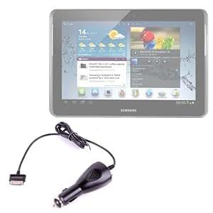 Chargeur de voiture allume-cigare de première qualité pour tablette Samsung Galaxy Note 10.1 (N8000, N8010, N8013) et Samsung ATIV Tab - Garantie 5 ans