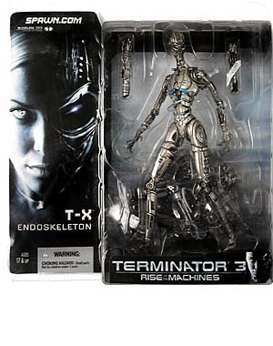 Picture of McFarlane T3: Rise of the Machines : TX Terminatrix Endoskeleton Action Figure (B000EVKGK4) (McFarlane Action Figures)