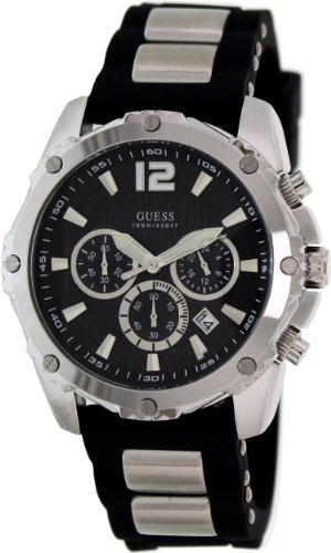 GUESS Men's U0167G1 Duo-Tone Sport Watch