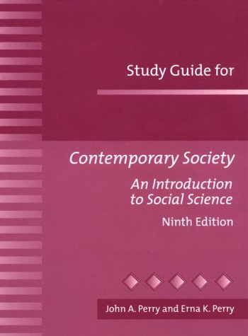 Contemporary Society: Introduction to Social Science