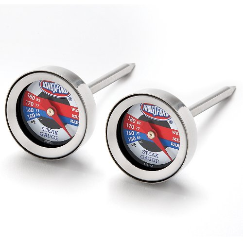 Kingsford Steak Thermometers, Set Of 2