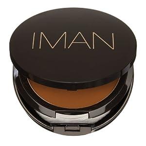 Iman Cosmetics Luxury Pressed Powder, Earth Dark