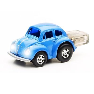 1GB VW Beetle BLUE USB Flash Memory Drive by JellyFlash