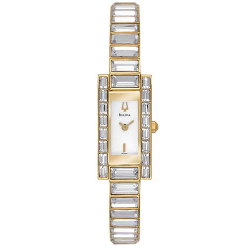 Bulova Women's 97V24 Crystal Watch