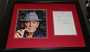 Paul Bear Bryant Signed Framed 1979 Letter & Photo Display JSA Alabama