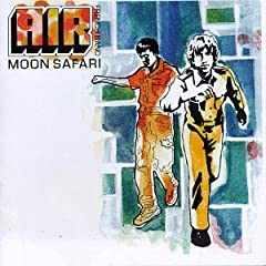 Pochette de l'album 'Moon Safari'.