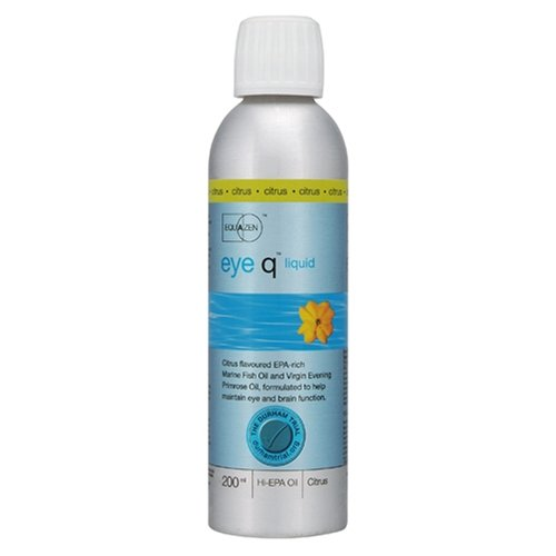 Equazen eye q Liquid Naturally-Sourced Omega-3 & Omega-6 Oils Citrus Flavoured 200ml