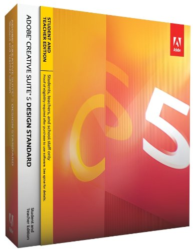Adobe Creative Suite 5 Design Standard Student &amp; Teacher Edition Picture