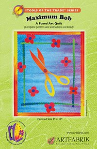 Maximum Bob - A Fused Art Quilt Pattern By Laura Wasilowski front-136194