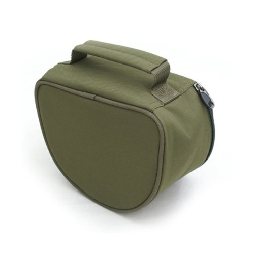 BRYTEC OLIVE GREEN DELUXE PADDED fishing REEL CASE