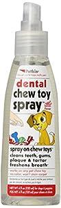 Sharples & Grant Ltd Petkin Dental Chew Toy Spray, Bacon Flavour