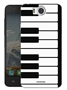 "Keyboard Piano Keys Printed Designer Mobile Back Cover For ""Google Infocus M530"" By Humor Gang (3D, Matte Finish, Premium Quality, Protective Snap On Slim Hard Phone Case, Multi Color)"