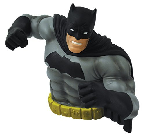 [Monogram The Dark Knight Returns: Batman Bust Bank (Black Version) by Monogram] (Frank Miller Batman Costume)