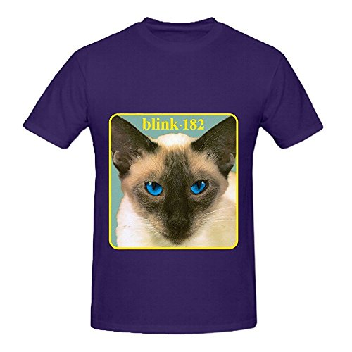blink-182-cheshire-cat-pop-mens-o-neck-slim-fit-tee-purple