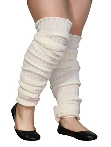 Plus Size Leg Warmers Womens Super Long Cable Knit Leg ...