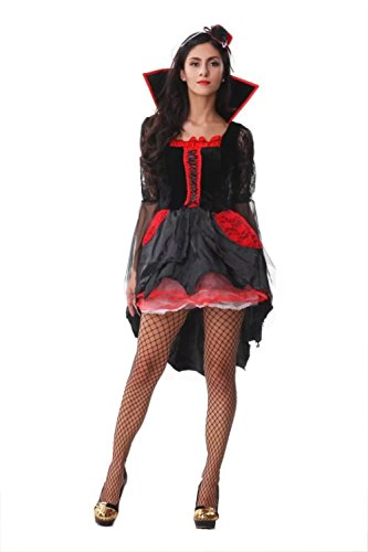 NonEcho Halloween Costumes for Women Adult Vampire Outfit Kit