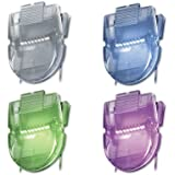 Advantus Standard Size Wall Clips for Fabric Panels, 40 Sheet Capacity, Assorted Metallic Colors, Box of 20 (AVT75338)