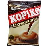 Kopiko Cappuccino Flavor Strong & Rich Coffee Candy Net Wt 120 G (40 Pellets.) X 3 Bags