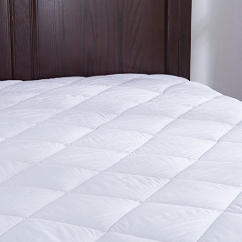 Puredown Down Alternative Mattress Pad Topper 100%Cotton