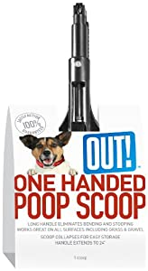 OUT! One-Handed Dog Poop Scoop