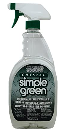 Simple Green 19024 Crystal Industrial Cleaner/Degreaser, 24oz Trigger Spray