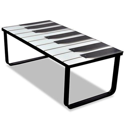 Anself-Couchtisch-Wohnzimmertisch-Tisch-mit-5-mm-Sicherheitsglas-90-x-45-x-32-cm-Klavier-Print-Glasplatte
