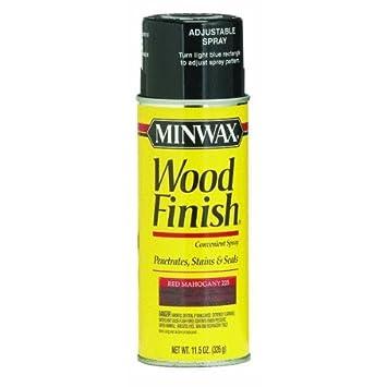 aerosol wood stain