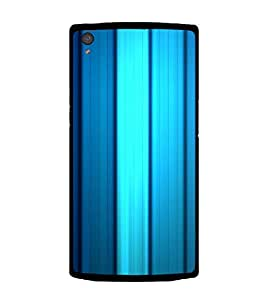 printtech Streak Pattern Cool Back Case Cover for OnePlus X