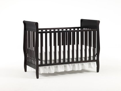 41D2%2BT5AMjL Graco Sarah Classic Convertible Crib, Espresso | Review