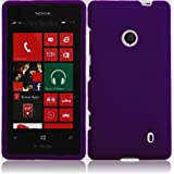Generic Hard Cover Case for Nokia Lumia 521 - Retail Packaging - Purple