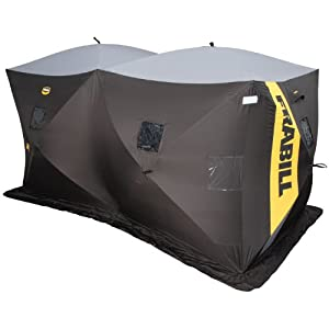 Frabill 7006 Thermal Headquarters Hub Style Shelter, Fishes 6 by Frabill