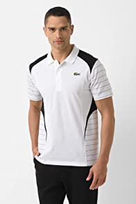 Andy Roddick Super Light Geometric Color Block Polo