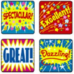STICKERS POSITIVE WORDS - Buy STICKERS POSITIVE WORDS - Purchase STICKERS POSITIVE WORDS (Carson Dellosa, Toys & Games,Categories,Arts & Crafts,Stamps & Stickers)