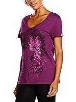 Puma Camiseta Manga Corta Afro Tee (Violeta)
