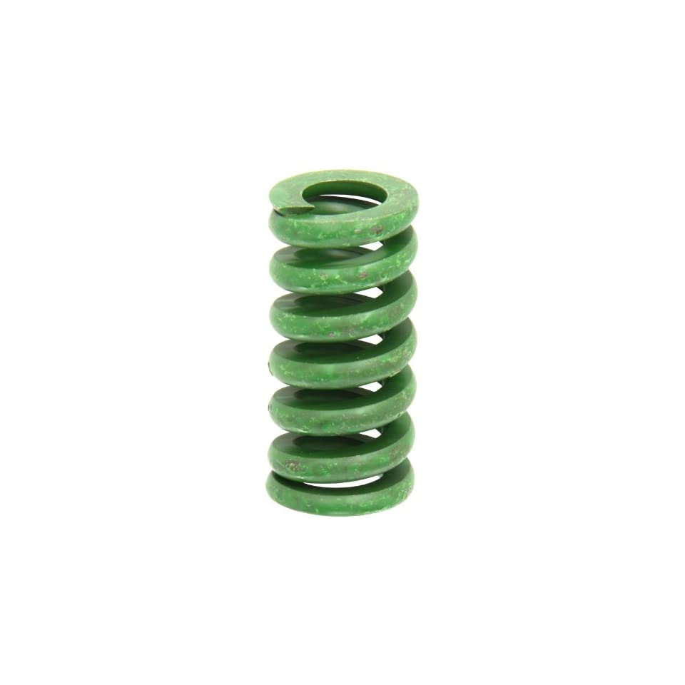 Die Spring, Extra Heavy Duty, Closed & Ground Ends, Green, 1 Hole Diameter, 0.5 Rod Diameter, 2 Free Length, 1160lbs Spring Rate (Pack of 10)