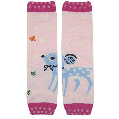 New Baggy Cotton Baby Knee Pads Leg Warmer/ Leggings Pink Deer 8061249 - 1