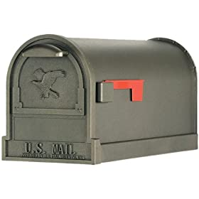 Solar Group AR15T000 Large U.S.P.S. Approved Premium Mailbox, Bronze