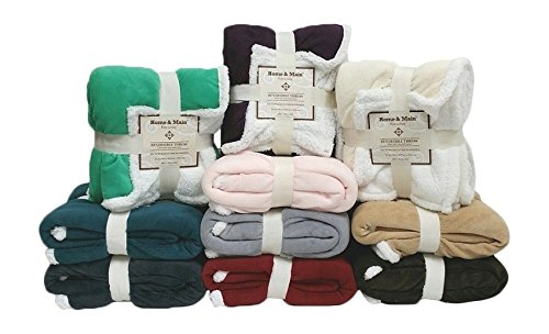 Cuddly Sherpa Throw
