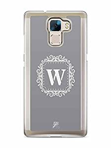 YuBingo Monogram with Beautifully Written letter W Designer Mobile Case Back Cover for Huawei Honor 7