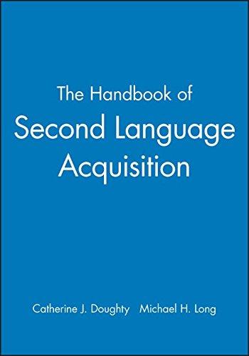 Handbook of Second Language Ac (Blackwell Handbooks in Linguistics)