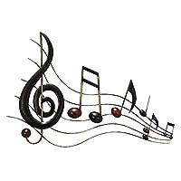 Benzara 64292 26 in. Metal Wall Music…