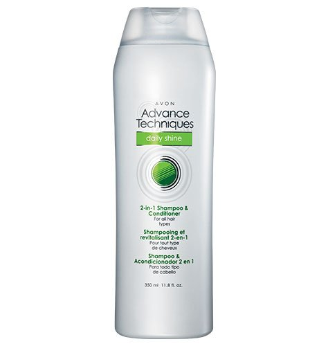 Advance Techniques Daily Shine 2-in-1 Shampoo & Conditioner - New Packaging (Avon Shampoo And Conditioner compare prices)