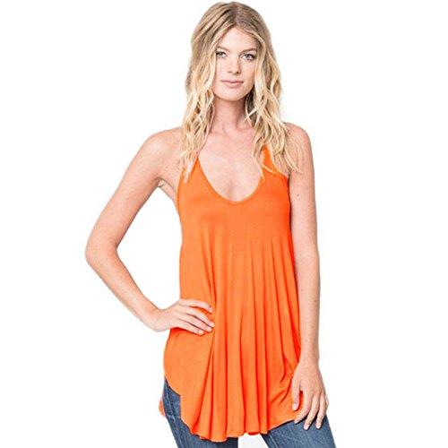 meinice-robe-special-grossesse-femme-orange-l