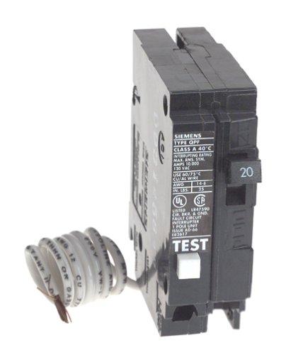 siemens qf120 20 amp 1 pole 120 volt ground fault circuitsiemens qf120 20 amp 1 pole 120 volt ground fault circuit interrupter