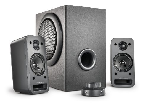 Wavemaster MX 3+ - Set de altavoces (2.1, 60 W, Universal, 24 W, 150 - 20000 Hz, 36 W)