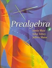 Prealgebra by Jamie Blair