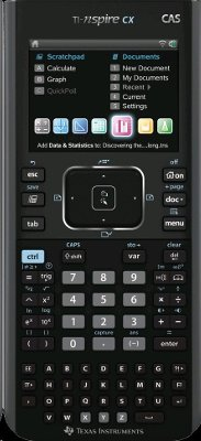 Texas Instruments Nspire CX CAS Graphing Calculator (N3CAS/GC/2L1)