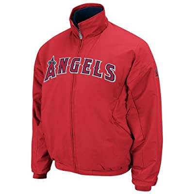 Majestics Mp2 Anaheim Angels Premiere Men's Jacket Red Mlb Outerwear