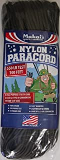 Makais Type III 550 Pound Nylon Paracord 100 Feet (Olive Drab)