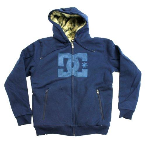 DC Mens Rabid Premium Hoodie - DC Navy (M)